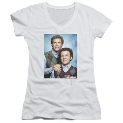 Image for Step Brothers Girls V Neck - The Bros