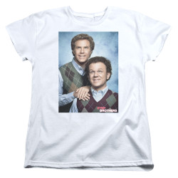 Image for Step Brothers Womans T-Shirt - The Bros