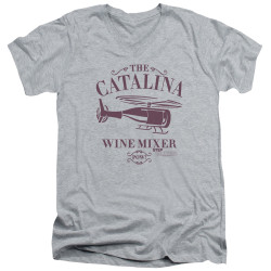 Image for Step Brothers V Neck T-Shirt - The Catalina Wine MIxer