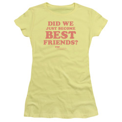 Image for Step Brothers Girls T-Shirt - Best Friends