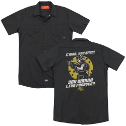 Image for Starship Troopers Dickies Work Shirt - Death of the Ape