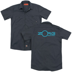 Image for The Fifth Element Dickies Work Shirt - Zorg Industries
