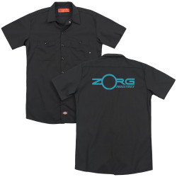 Image for The Fifth Element Dickies Work Shirt - Zorg Industries Logo
