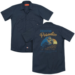 Image for The Fifth Element Dickies Work Shirt - Paradise