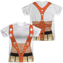 Image for The Fifth Element Sublimated T-Shirt - Leeloo Costume 100% Polyester