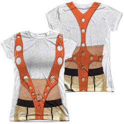 Image for The Fifth Element Girls Sublimated T-Shirt - Leeloo Costume