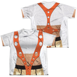 Image for The Fifth Element Youth Sublimated T-Shirt - Leeloo Costume