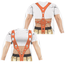 Image for The Fifth Element Sublimated Long Sleeve - Leeloo Costume