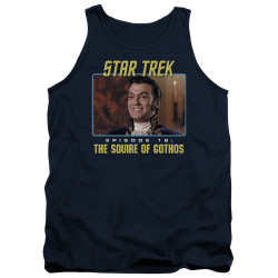 Image for Star Trek Tank Top - Episode 18: The Squire of Gothos