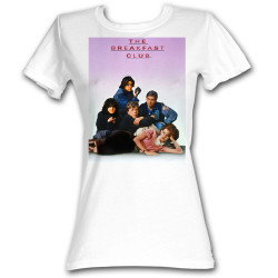 Image for The Breakfast Club Poster Girls T-Shirt