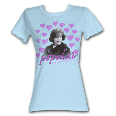 Image for The Breakfast Club Popular Girls T-Shirt
