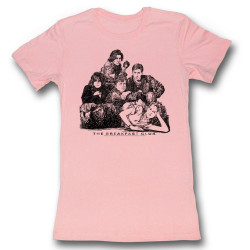 Image for The Breakfast Club Group Poster Girls T-Shirt