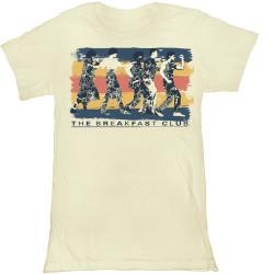 Image for The Breakfast Club Dance Away Girls T-Shirt