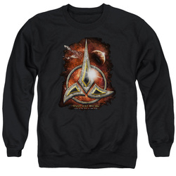 Image for Star Trek The Next Generation Crewneck - Klingon Crest