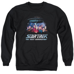 Image for Star Trek The Next Generation Crewneck - Space Group