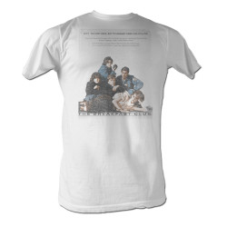 Image for The Breakfast Club T-Shirt - Poster