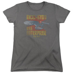 Image for Star Trek Woman's T-Shirt - NCC1701 Animated