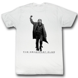 Image for The Breakfast Club T-Shirt - Vintage Fist Guy