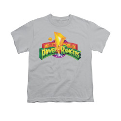 Image for Power Rangers Youth T-Shirt - MMPR Logo