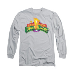 Image for Power Rangers Long Sleeve T-Shirt - MMPR Logo
