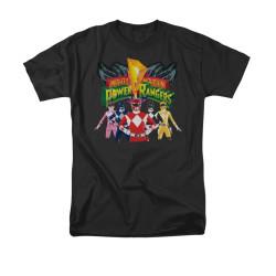 Image for Power Rangers T-Shirt - Rangers Unite