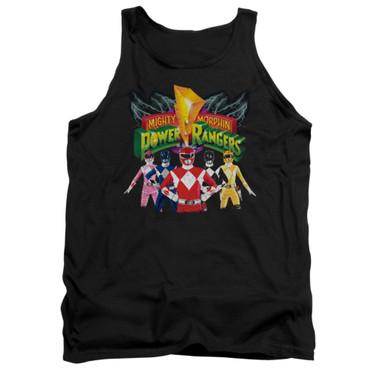 Image for Power Rangers Tank Top - Rangers Unite