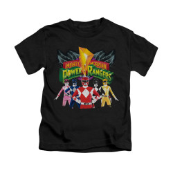 Image for Power Rangers Kids T-Shirt - Rangers Unite