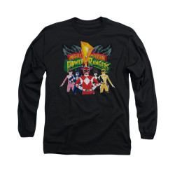Image for Power Rangers Long Sleeve T-Shirt - Rangers Unite