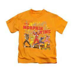 Image for Power Rangers Kids T-Shirt - Morphin Time