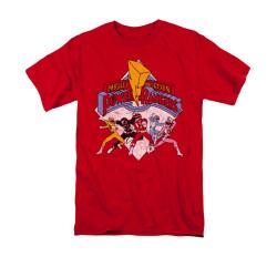 Image for Power Rangers T-Shirt - Retro Rangers