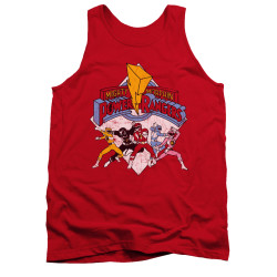 Image for Power Rangers Tank Top - Retro Rangers