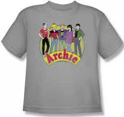 Image for Archie Comics Youth T-Shirt - the Cast