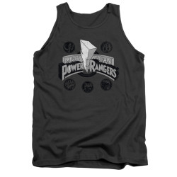 Image for Power Rangers Tank Top - Power Coins