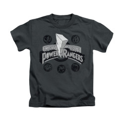 Image for Power Rangers Kids T-Shirt - Power Coins