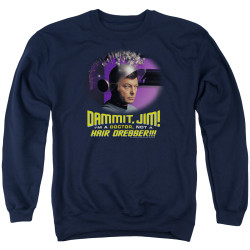 Image for Star Trek Crewneck - I'm a Doctor Not a Hairdresser