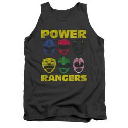 Image for Power Rangers Tank Top - Ranger Heads