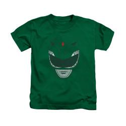 Image Closeup for Power Rangers Kids T-Shirt - Green Ranger