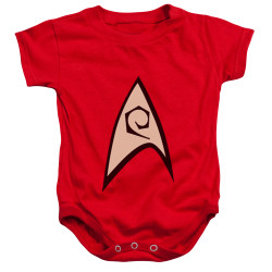 Image for Star Trek Engineering Uniform Baby Creeper