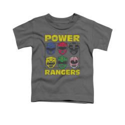 Image for Power Rangers Toddler T-Shirt - Ranger Headss