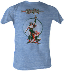 Image for Conan the Barbarian T-Shirt - Movie Poster