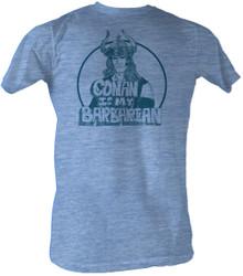 Image for Conan the Barbarian T-Shirt - My Barbarian
