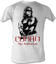 Conan the Barbarian T-Shirt - Black and Red