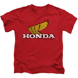 Image for Honda Kids T-Shirt - Yellow Wing Logo