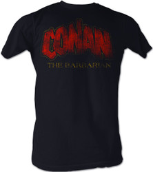 Image for Conan the Barbarian T-Shirt - Distressed Logo