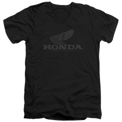 Image for Honda V-Neck T-Shirt - Vintage Wing