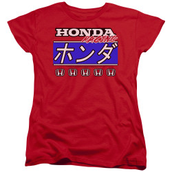 Image for Honda Woman's T-Shirt - Kanji Racing