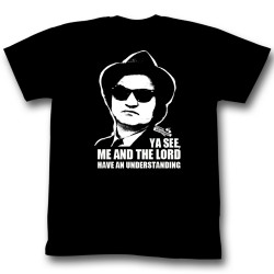 Image for The Blues Brothers T-Shirt - Me and the Lord Have an Understanding