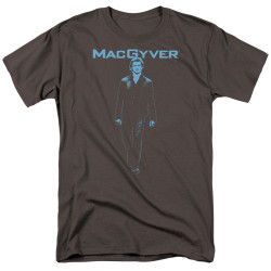 Image for MacGyver T-Shirt - Mono Blue