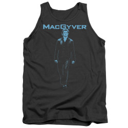 Image for MacGyver Tank Top - Mono Blue