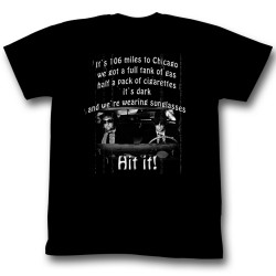 Image for The Blues Brothers T-Shirt - It's 106 Miles to Chicago